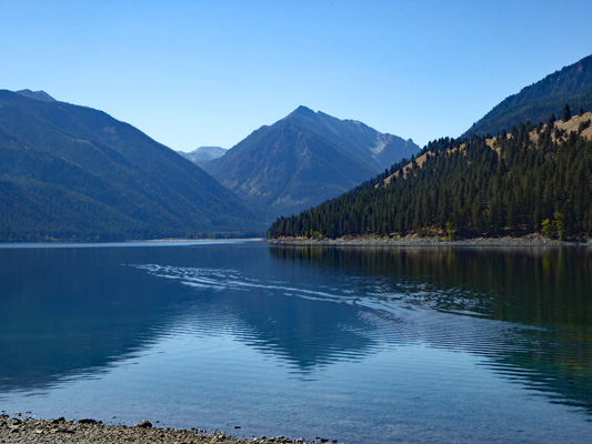 Wallowa Mts from Wallowa Lake