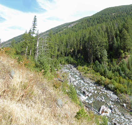 Hurricane Creek from trail