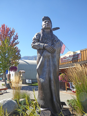 "Sculpture ""Chief Joseph"""