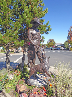 "Sculpture ""All Around Cowboy"""