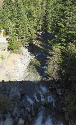 Lostine River from Pole Bridge