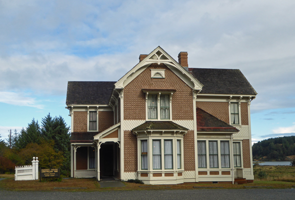 Historic Hughes House Cape Blanco OR