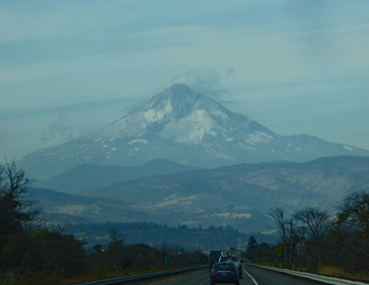Mt  Hood from I-84 at Biggs