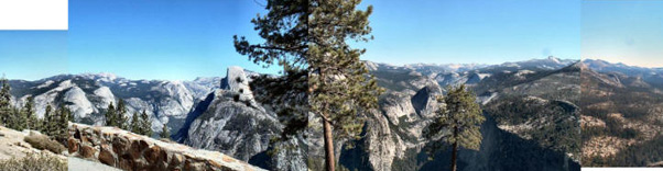 View from Washburn Pt in Yosemite