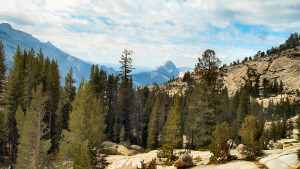 Olmstead Pt view of Yosemite